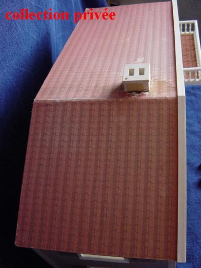 Le toit - cheminée