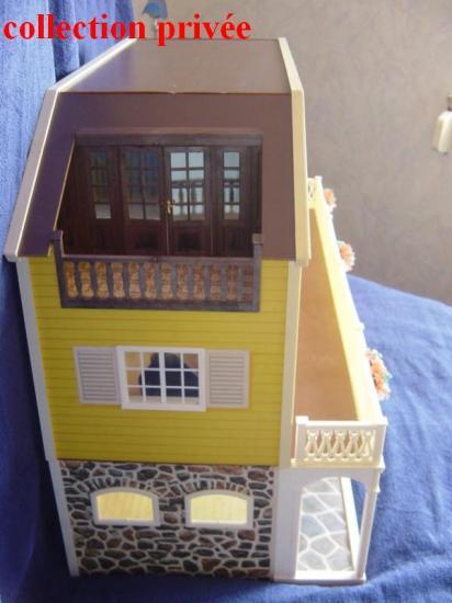 Vue côté gauche - le balcon